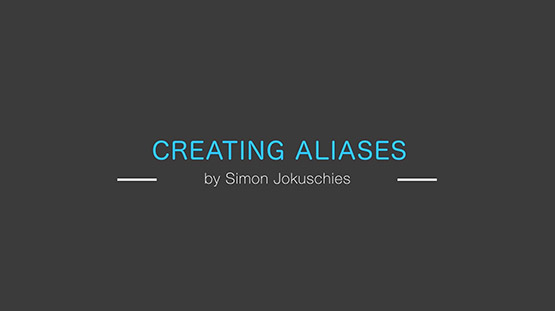Creating Aliases in your terminal
